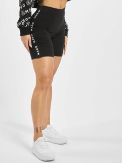 Missguided Kvinder Shorts Missguided Panel Cycling i sort, 36