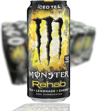 Monster Energy Rehab Lemonade 24-pack (50cl)