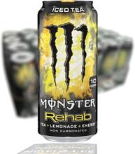 Monster Energy Rehab Lemonade 24-pack (50cl)