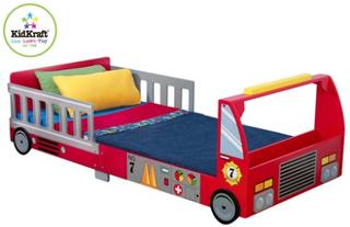 Kidkraft Brandbil bilsäng