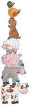 Djeco - Pusslet Daisy Med Vänner - 9 - 12 - 15 Bitar