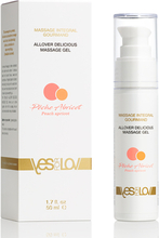YESforLOV - Allover Delicious Massage Gel Peach Apricot