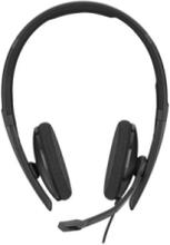 SC 160 USB-C Wired Binaural Headset - Svart