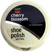 Cherry Blossom Shoe Polish Natural 50 ml