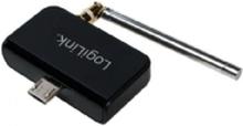 LogiLink DVB-T2 Mini Receiver for Android - Digital TV tuner - DVB-T2 - HDTV - USB 2.0