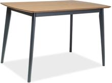 Jarrett matbord - Ek/svart