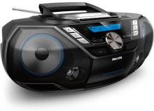 Philips: Boombox CD/Radio/Kassett/BT/US