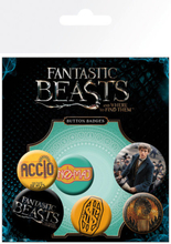 Fantastic Beasts - Pin Badges 6-Pack