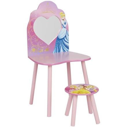 Worlds Apart - Disney Princess sminkbord med pall