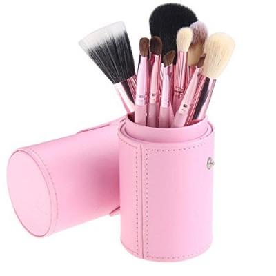 Basics Makeup Brush Set Light Pink 12 kpl