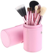 Basics Makeup Brush Set Light Pink 12 kpl