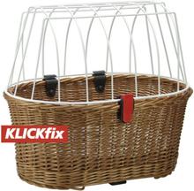KlickFix GTA Doggy Basket 2020 Cykelkorgar för pakethållare