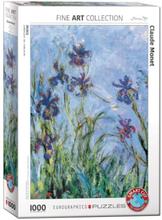 Claude Monet, Irises, Palapeli, 1000 palaa, Eurographics