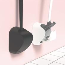 Sanimaid Paris hygienisk toalettbørste m/veggholder, mørkegrå