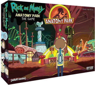 Rick and Morty brädspel - The Anatomy Park