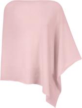 Poncho i 100% kashmir i Premium-kvalitet från Peter Hahn Cashmere rosa