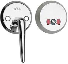 Toalettbehör ASSA 9265-50 Nickel