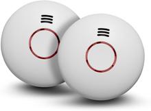 Brandvarnare med temperaturvarnare, 2-pack Housegard Origo
