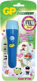 Ficklampa för barn GP Fun Torch-Blue