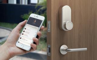 REA - Glue Smart Lock V2 - App-styrt lås inklusive Glue Wi-Fi Hub