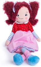 Rödhårig docka med namn, 35 cm