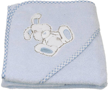 Badhandduk med huva GALIAPETTE (Blå)