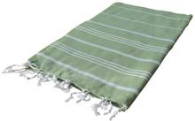 Hamam Handduk Sultan 60x90 Olivgrön