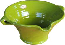 Keramikskål grön