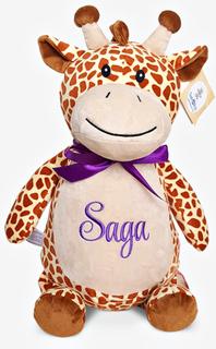 Giraff gosedjur med namn, 40 cm