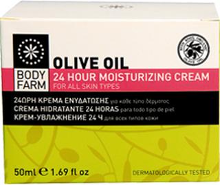 24 Hour Moisturizing Cream Olivolja