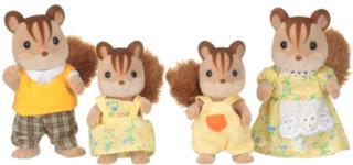 Sylvanian Families Familien - Valnøde egerne Familien Knacks
