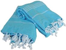 Extra Stor Hamam handduk De La Mer Turkos