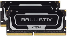 Ballistix - DDR4 - 32 GB: 2 x 16 GB - SO DIMM 260-pin - 2666 MHz / PC4-21300 - CL16 - 1.2 V - ej buffrad - icke ECC - svart