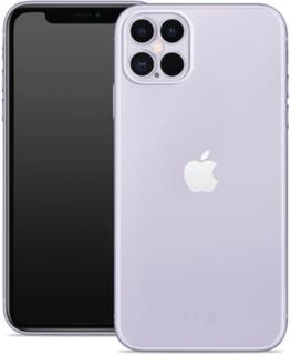 Puro - Nude Skal Iphone 12 Pro Max - Transparent