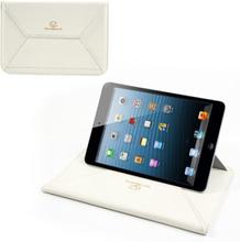 Envelope (Hvit) Tablet 8 inch Lær Stand/Pouch