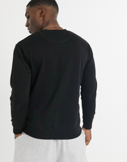 Selected Homme sweatshirt with homme logo in black