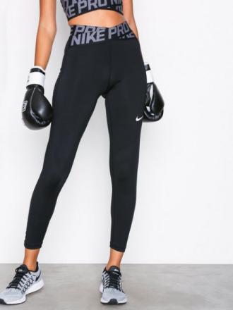 Treningstights - Svart/Hvit Nike Pro Tight Crossover