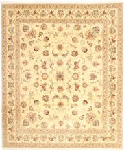 Tabriz 50 Raj med silke matta 255x295 Persisk Matta