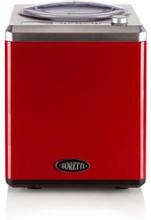 BORETTI B101 Automatisk glassmaskin 2 L - 180 W - Med kompressor - Temperaturer -18 ° C till -35 ° C - Röd