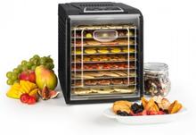 Fruit Jerky 9 torkautomat timer 9 hyllor 600-700W svart