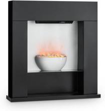Studio-8 Elektrisk Kamin LED-Flammor 2000W 40m² MDF svart