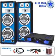 "PA-system Blue Star Series ""Bassveteran"" 1600 Watt"