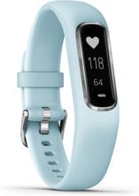 Garmin vivosmart 4 Fitness Bracelet light blue/silver 2020 Aktivitetsarmbånd