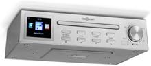 "Streamo Chef köksradio CD-player BT 2,4""HCC display silver"