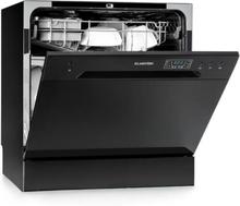Amazonia 8 diskmaskin mini-diskmaskin A+ 1620W svart