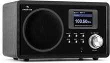 IR-150 Internetradio FM DLNA Trådlös Retro Fjärrkontroll Trähölje
