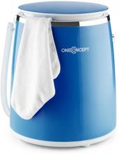 Ecowash-Pico Mini-Tvättmaskin Spinfunktion 3,5 kg 380W blå