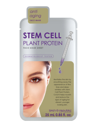 Stem Cell Plant Protein Face Mask