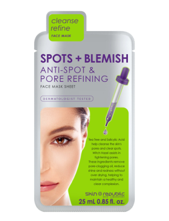 Spots And Blemish Face Mask