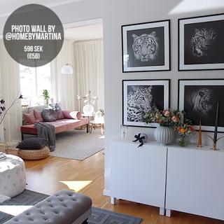 Photo wall By @homebymartina